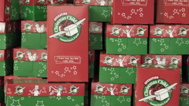 Operation Christmas Child drop-off location – Salisbury Bible Fellowship